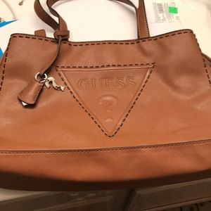 Guess Brown Hand Bag